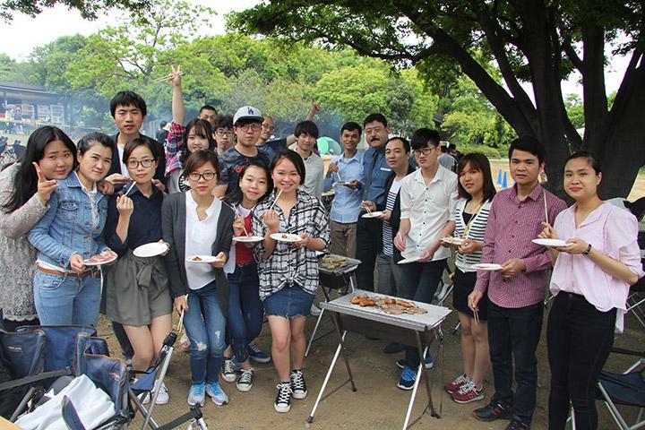 課外学習 BBQ 日本留学試験
