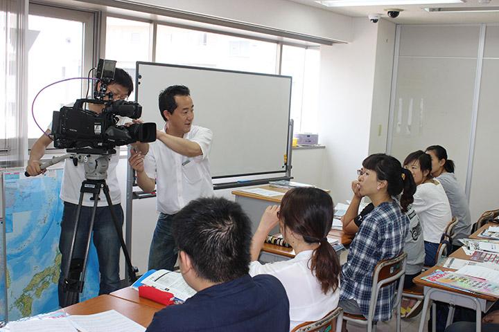 進学合同説明会 漢字コンテスト 期末試験