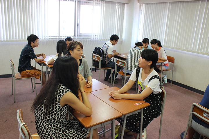 日本人との交流会、夏休み、避難訓練、日本語能力試験