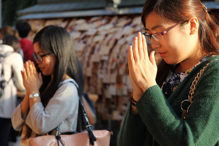 湯島天神合格祈願、日本留学試験、日本語能力試験